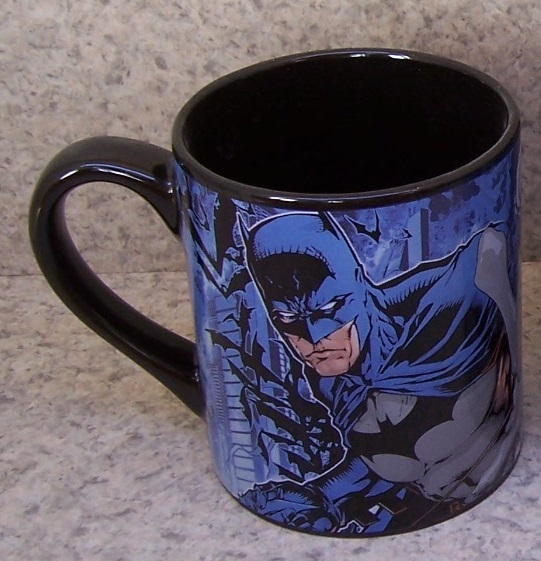 Batman versus The Joker entertainment coffee mug thumbnail